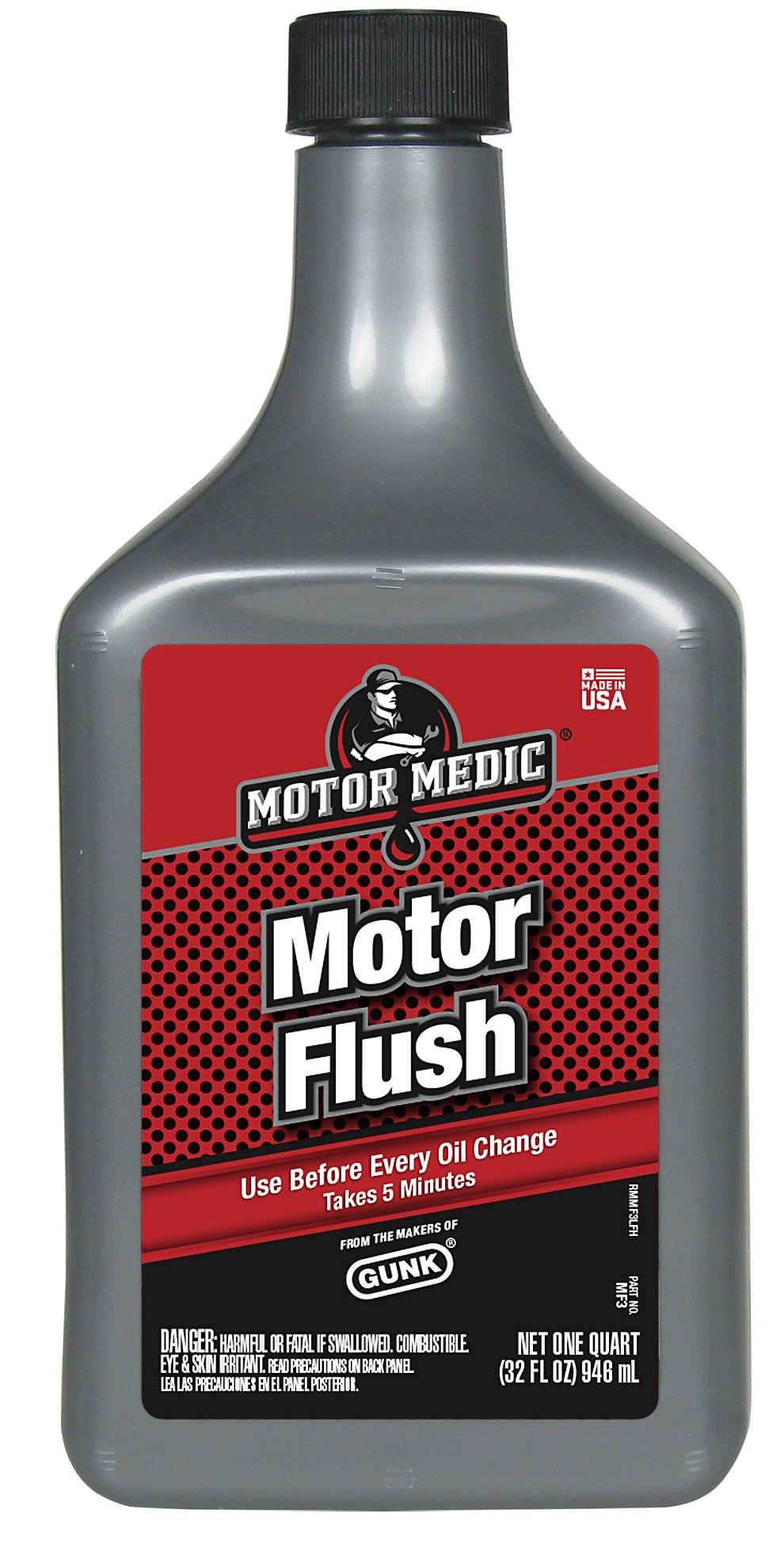 Niteo Motor Medic MF3-12PK 5-Minute Motor Flush - 32 oz, (Case of 12) by Niteo