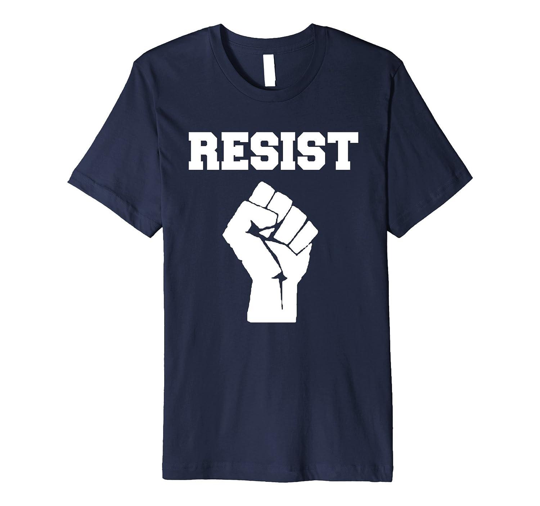 Resist - Impeach 45 Anti-Trump Political T-Shirt-Art