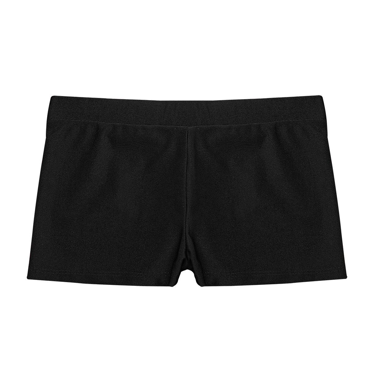 9282e7a450f1a TiaoBug Children's Gymnastics Gym Lycra Dance Girls Stretch Neon Shorts Hot  Pants: Amazon.co.uk: Sports & Outdoors