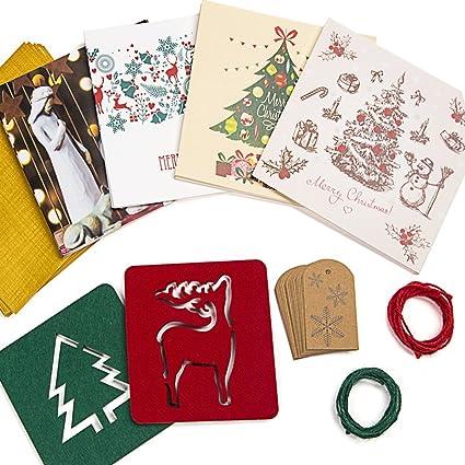 SALE! Caja de Tarjetas de Navidad - 20 Tarjetas con 20 Sobres ...