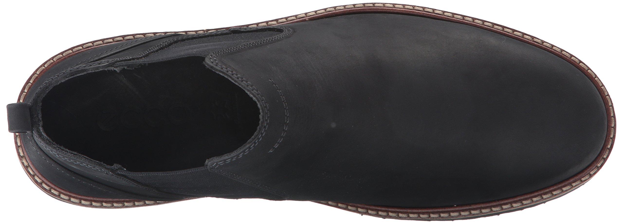 ECCO Men's Ian Chukka Boot, Black, 43 EU/9-9.5 M US by ECCO (Image #8)