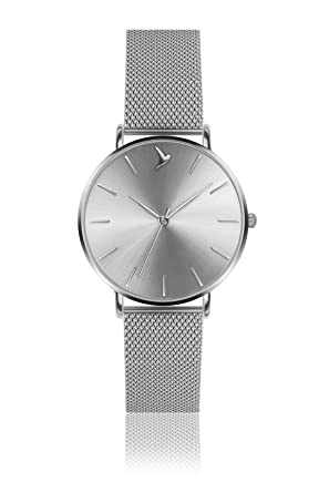 Emily Westwood Ladies Watch Eal 2518s Silver Amazon Co Uk Watches