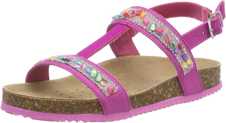Geox Mädchen J New Aloha Girl B T Spangen Sandalen