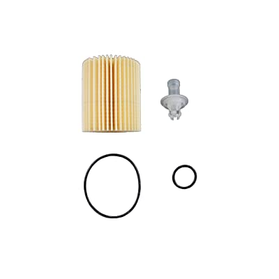 Toyota Genuine Parts 04152-YZZA5 Replaceable Oil Filter Element - 04152YZZA5: Automotive