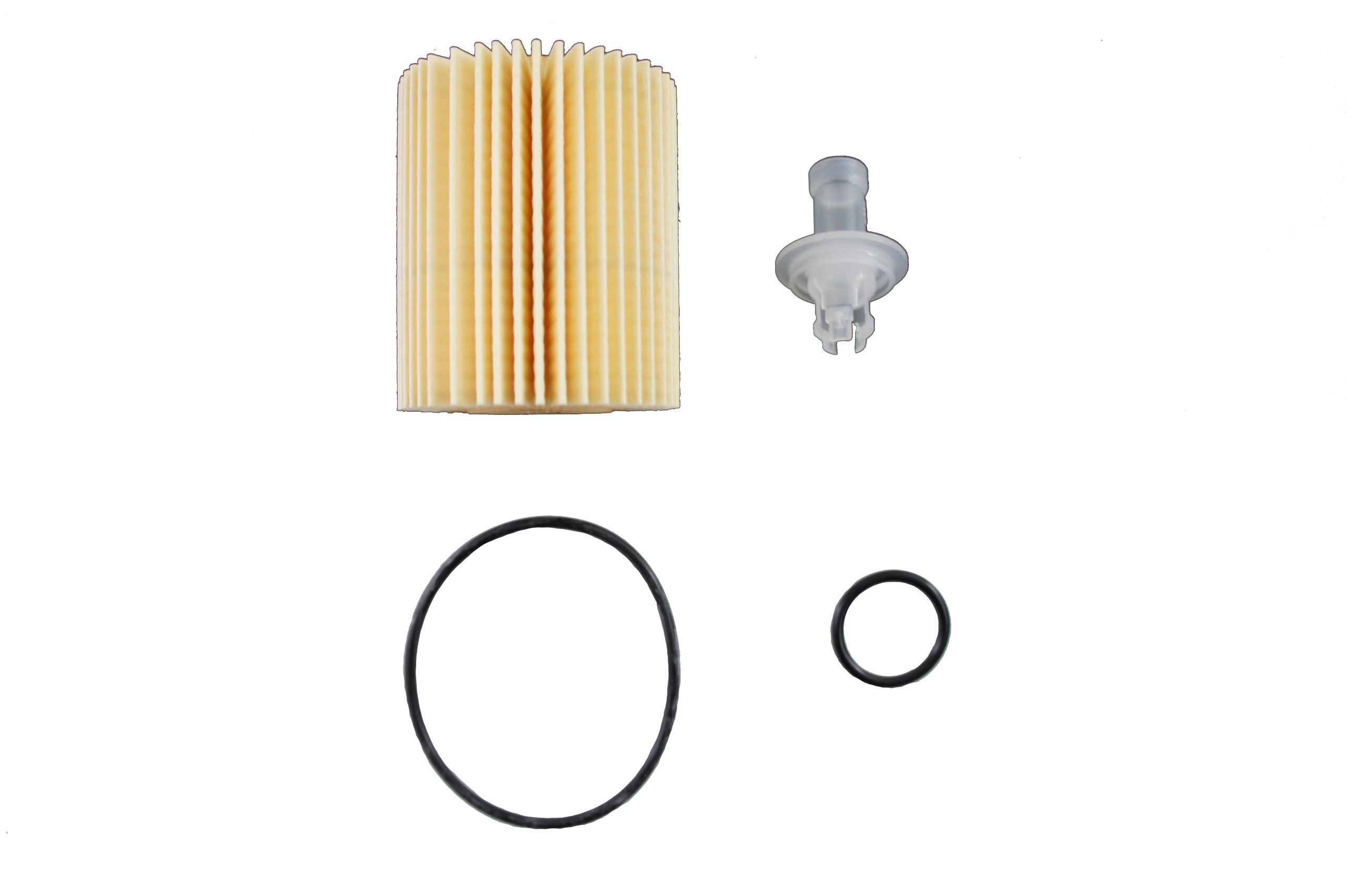 Toyota Genuine Parts 04152-YZZA5 Replaceable Oil Filter Element - 04152YZZA5