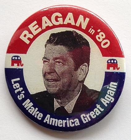 Resultado de imagen para ronald reagan make america great again