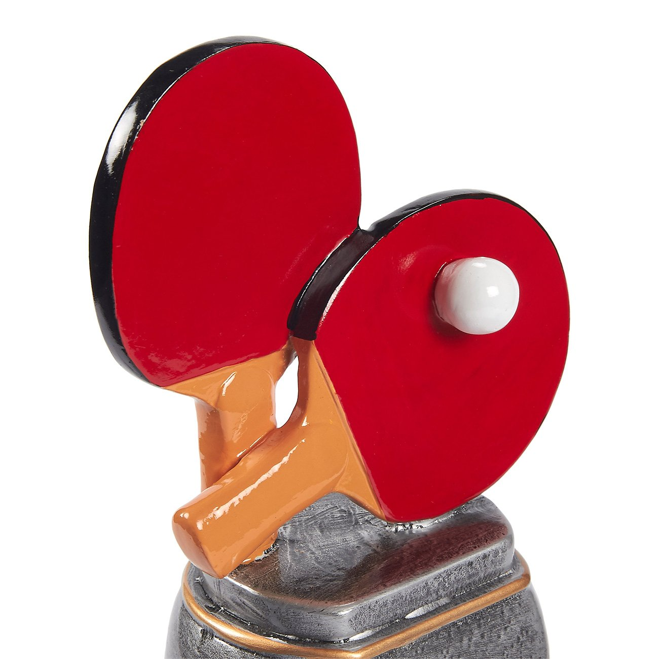 Competitions 5.5 x 4.25 x 3.75 Inches Table Tennis Award Trophy Sports Tournaments Parties Juvale Ping Pong Trophy