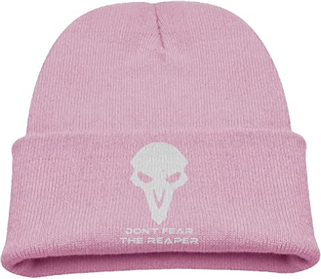Ice Cream Cat Knitted Hat Classic Skull Beanies Kids Cuffed Plain Cap