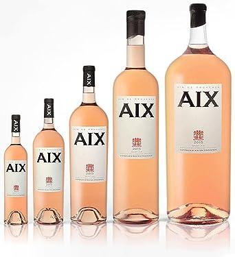 Bouteille plusieurs tailles de vin Aix rosé