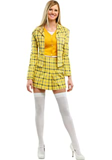 Amazon Com Clueless Cher Costume Plus Size Womens Costume Clothing