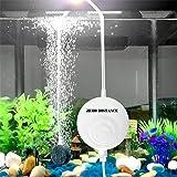 Zero distance 2019新しい 、水槽エアーポンプ 小型エアーポンプ 1W 0.3L / Min空気の排出量 空気ポンプ 低騒音 効率的に水族館/水槽の酸素提供可能。