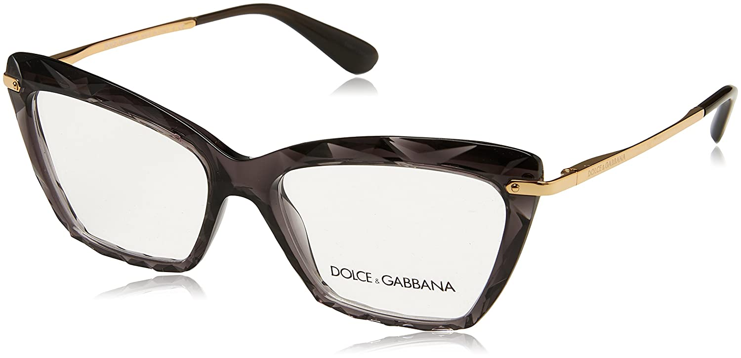 Amazon.com  Dolce Gabbana DG5025 Eyeglass Frames 504-53 - Transparent Grey  DG5025-504-53  Clothing 9136a93fd9