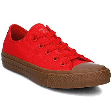 4ee8e7c40db1f Amazon.com: Converse Chuck Taylor II Unisex - 155499C - Color Red ...