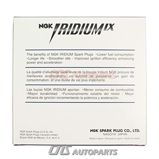 Amazon.com: New NGK Iridium IX Spark Plugs LFR5AIX-11# 4469 (pack 6): Automotive