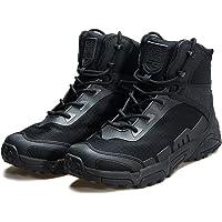 FREE SOLDIER Herren-Mid High-Schnürer Boots mit Army Combat Schuhe, Wanderstiefel, Atmungsaktiv, Taktische