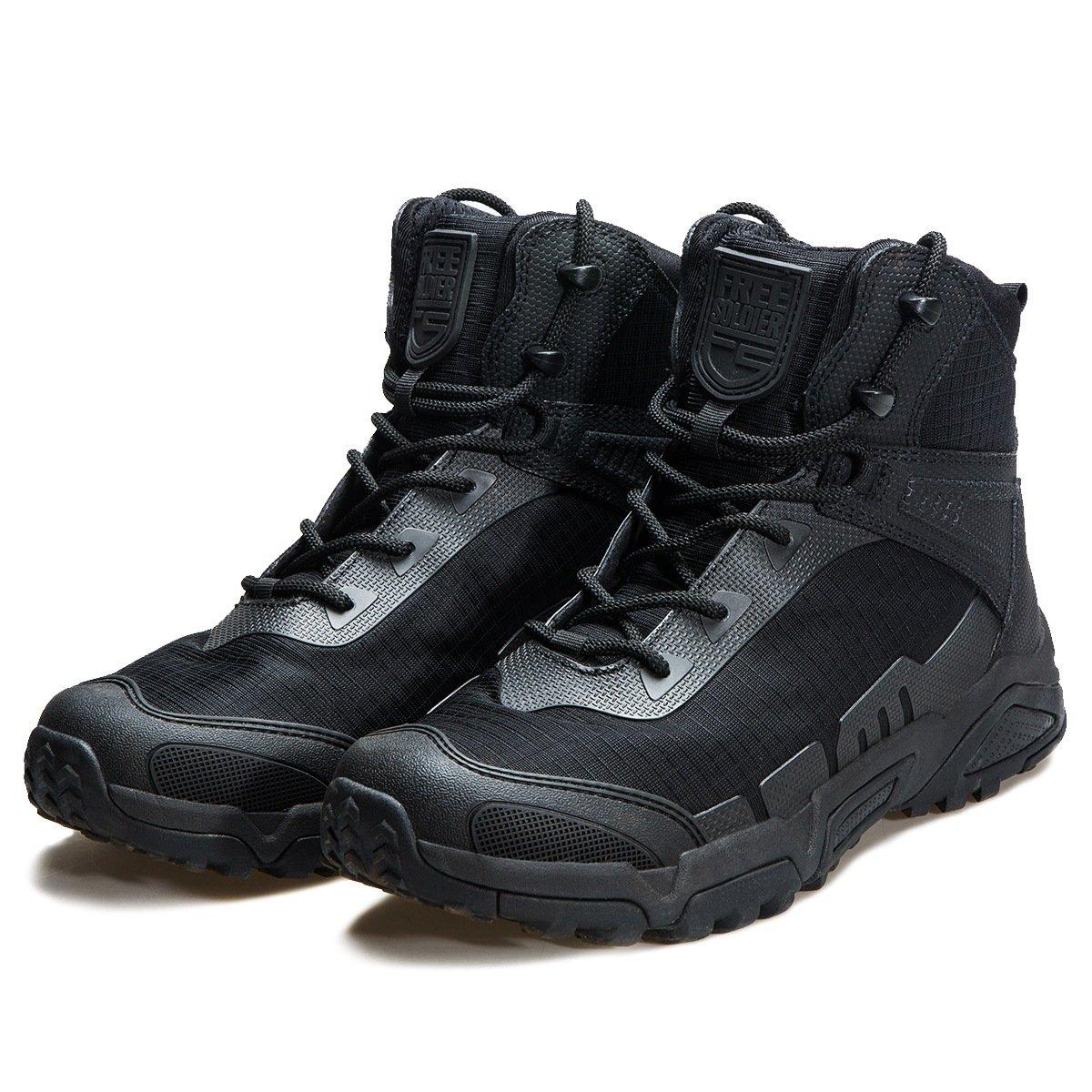 FREE SOLDIER Botas de Escalada para Hombre de Media Caña, con Cordones, duraderas y Transpirables F&S Ltd.