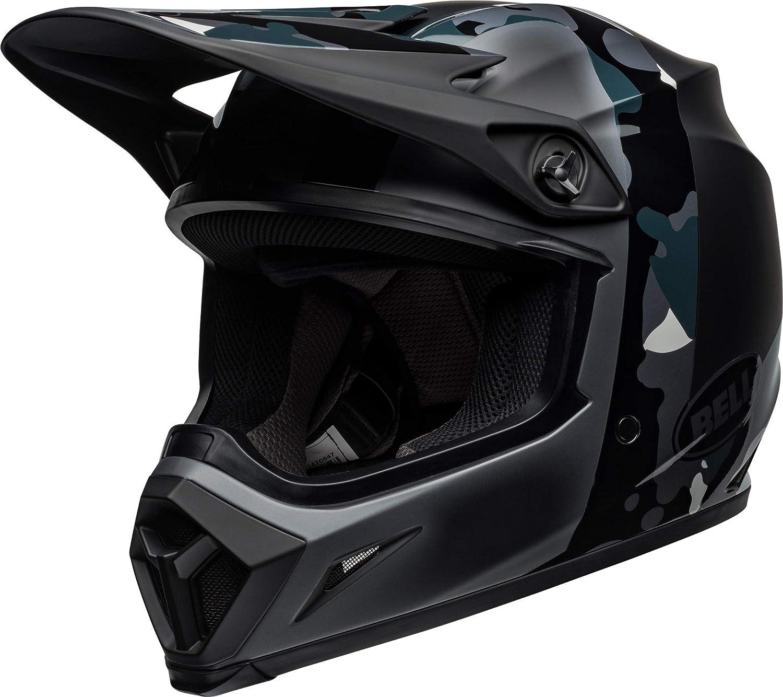 BLACK//TITANIUM CAMO Presence Bell MX-9 Helmet With MIPS XXX-LARGE