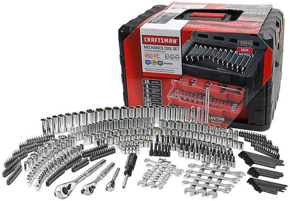 Craftsman 450-Piece Tool Set