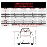 LAIDIPAS Unisex 3D Printed Hoodies for Men Women