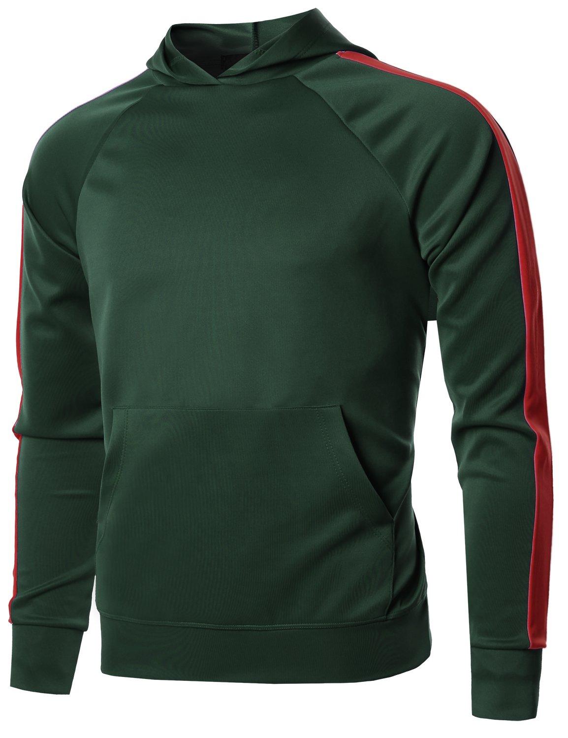 Style by William PANTS メンズ B07B8TF6YN XX-Large|Fsmhdl0008 Green Red Fsmhdl0008 Green Red XX-Large