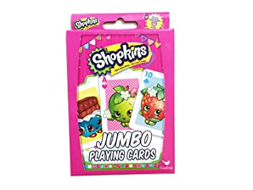 Amazon.com: Hasbro Shopkins Card Games Bundle With 1 Top Trumps ...