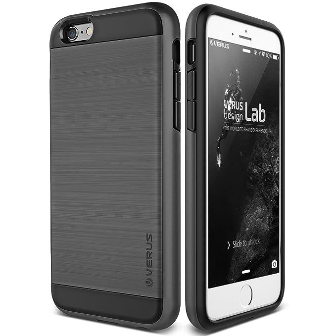 bd777727d75b4c Amazon.com: iPhone 6S Plus Case, Verus [Verge][Dark Silver] - [Heavy ...
