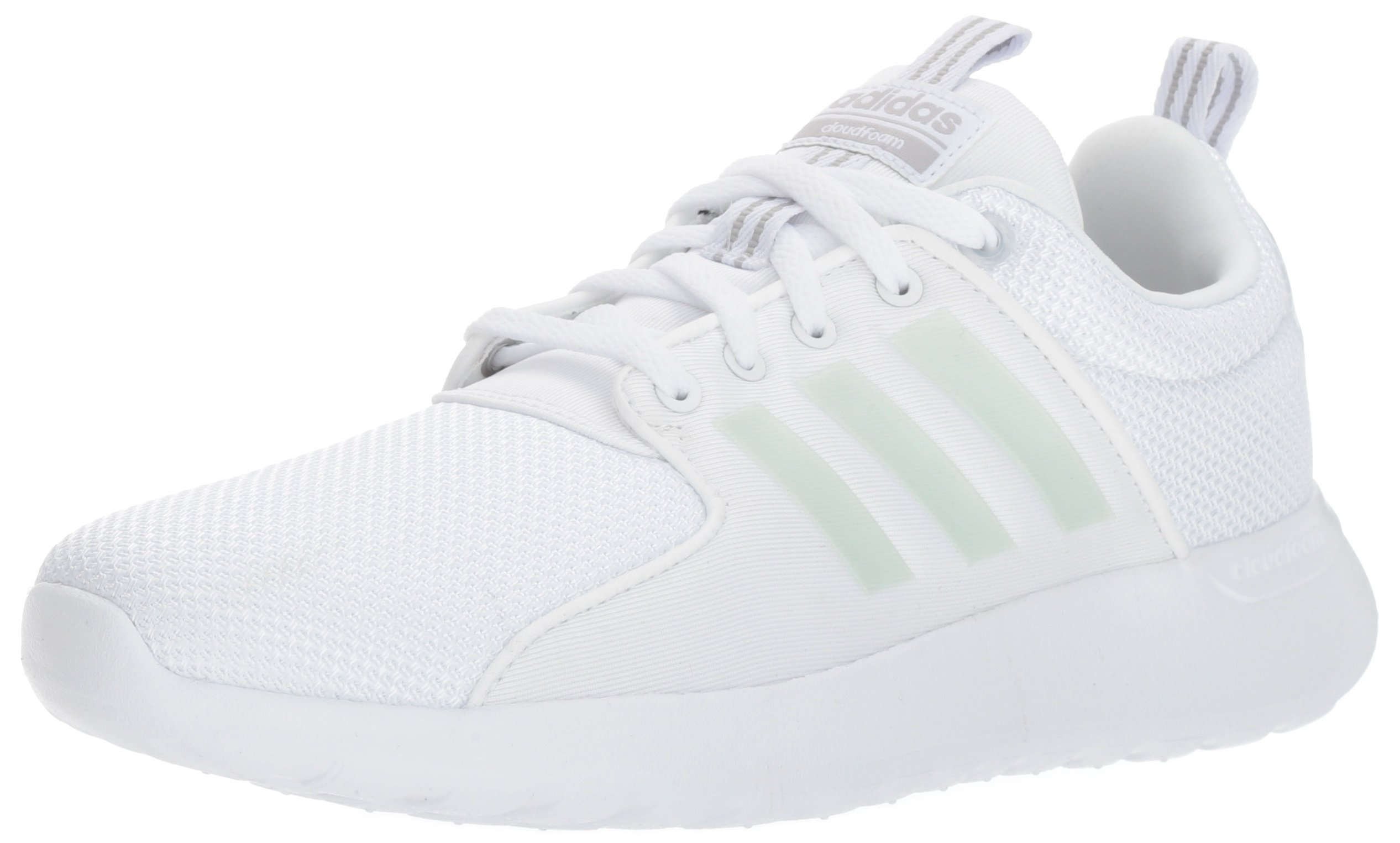 huge selection of 2c59a 9886a Galleon - Adidas NEO Men s CF Lite Racer Running Shoe,WHITE WHITE GREY  TWO,5 Medium US