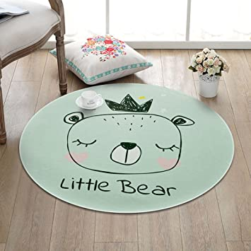 Awesome Tapis Rond Enfant Dessin Anim Simple Rond Salon Chambre Table Basse  Chambre Panier Chevet Accueil With Tapis Rond Salon