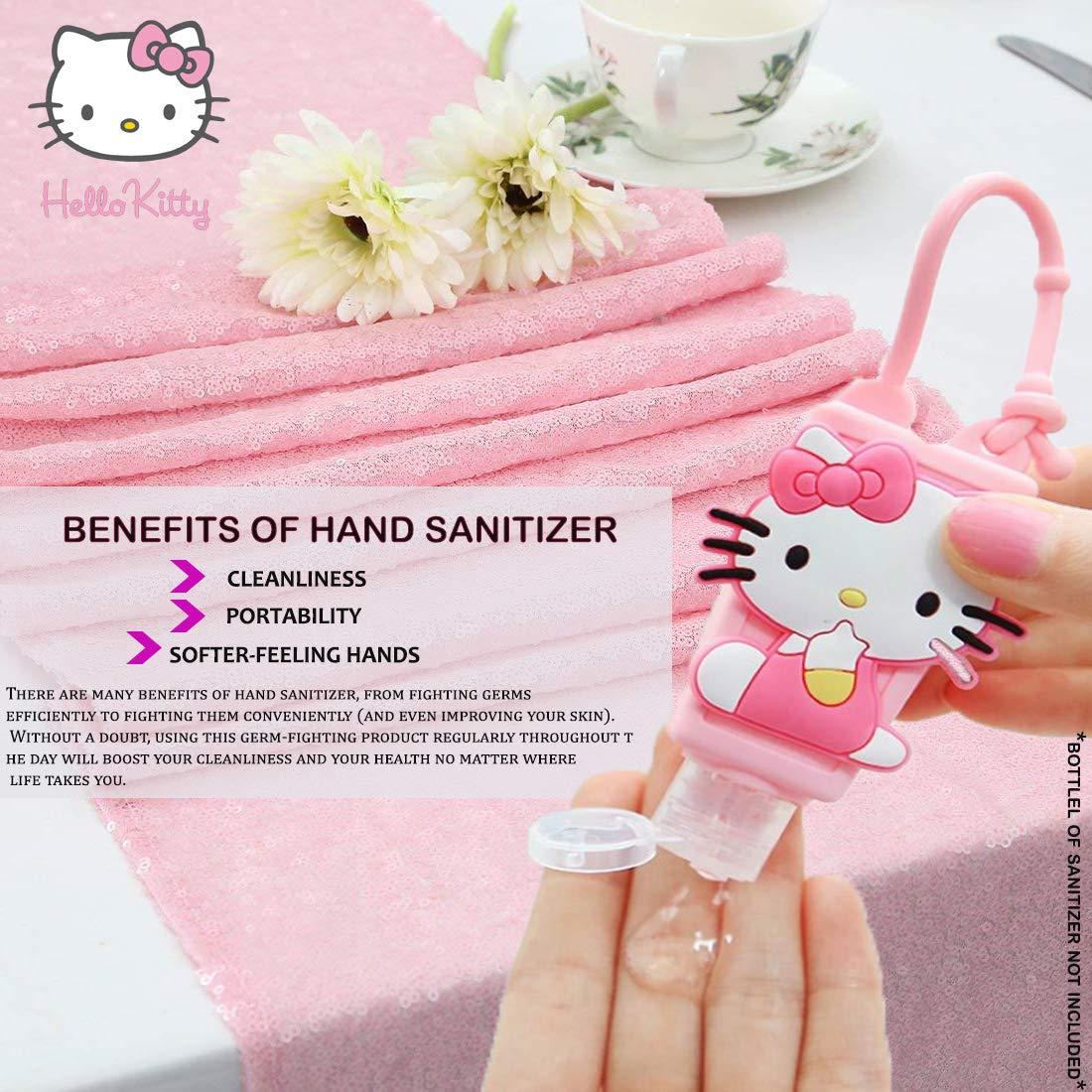 Amazon.com: Soporte para desinfectante de manos Pikachu para ...