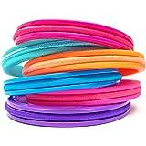 Hair Tie Bracelet - Bittersweet Teens - Plastic 6 Pack