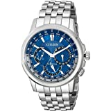Citizen Eco-Drive Men's Stainless Steel Calendrier Watch