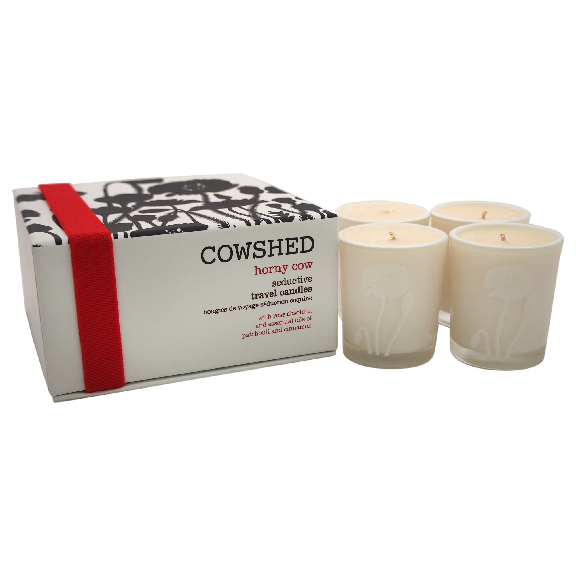Cowshed Horny Cow Seductive Travel Candles Set for Women