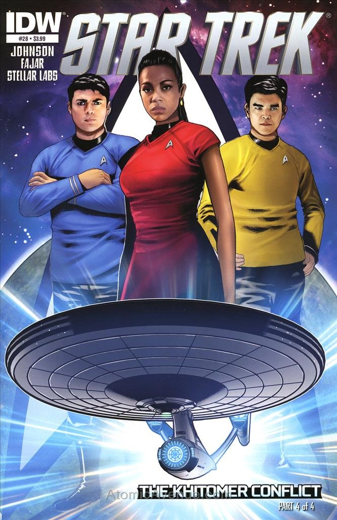 Star Trek (5th Series) #28 VF/NM ; IDW comic book