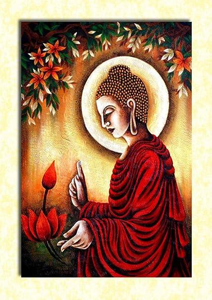 tamatina wall poster gautam buddha hd quality religious poster