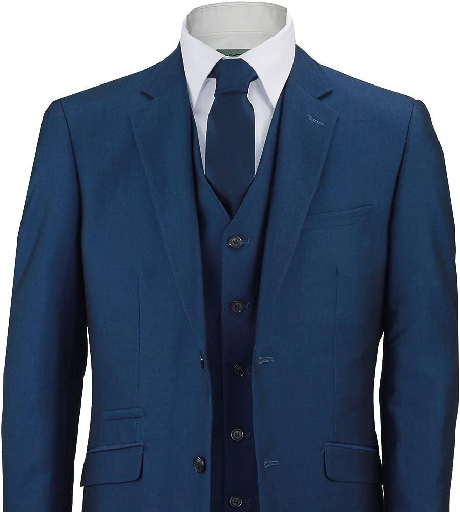 Vouet - Traje - para Hombre Azul Azul Marino Pecho 50 ...