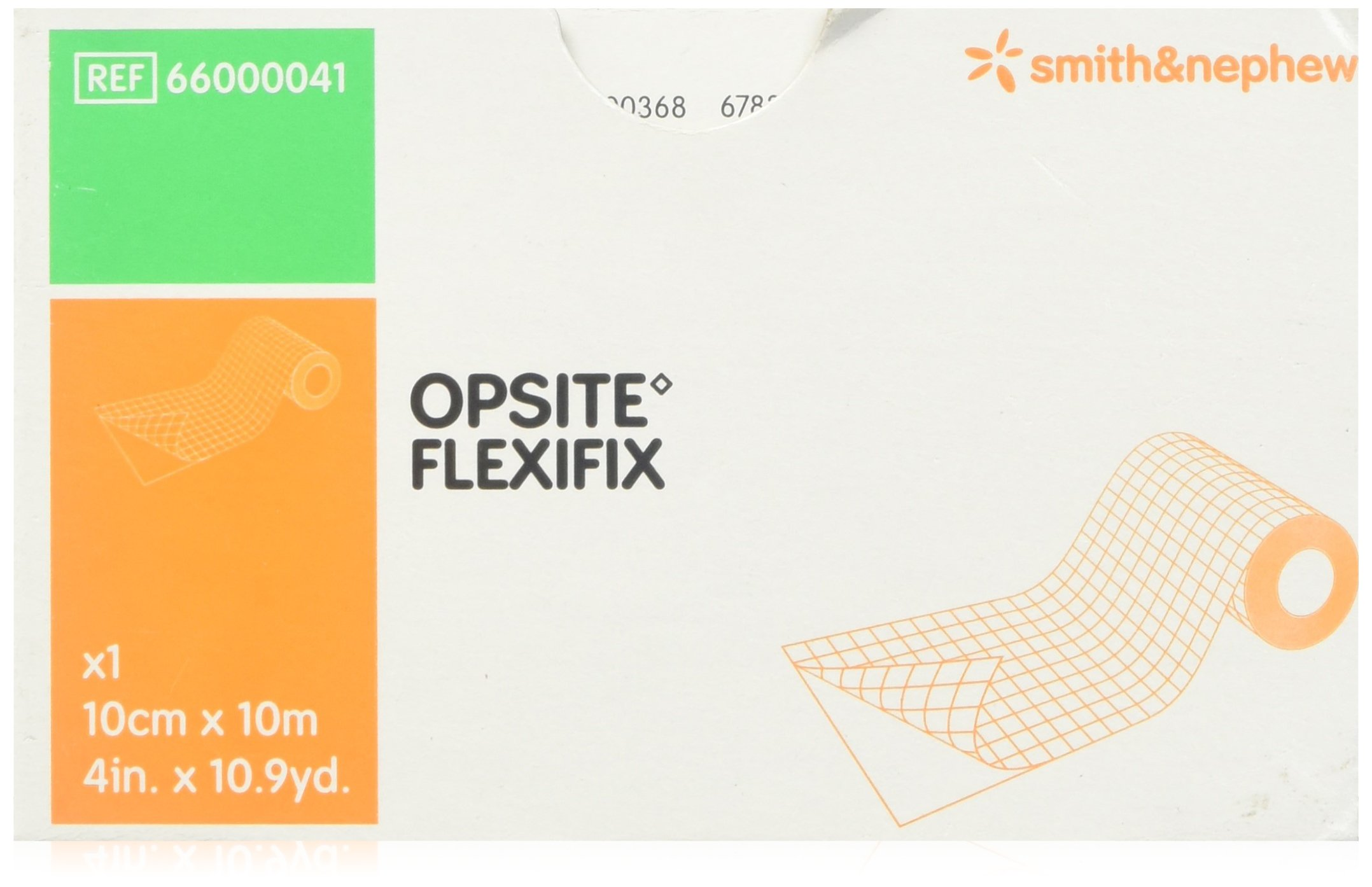 Smith & Nephew 5466000041EA - Opsite Flexifix Transparent Adhesive Film Dressing 4 x 11 ...