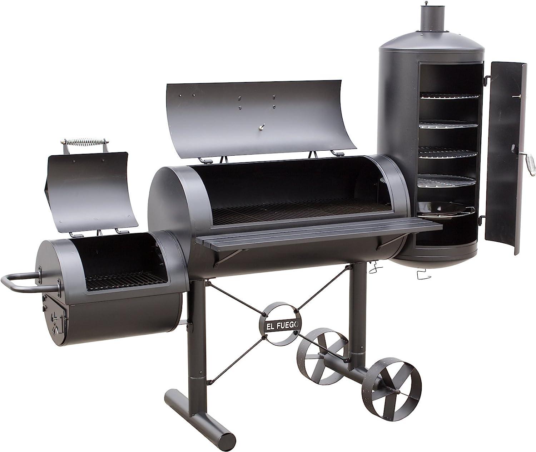 el fuego kiona ay312 holzkohle grill smoker in der analyse. Black Bedroom Furniture Sets. Home Design Ideas