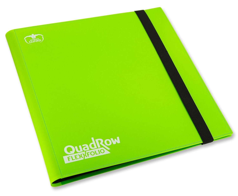 Ultimate Guard QuadRow 12-Pocket FlexXFolio Light Green Card Game Flat River Group UGD010347