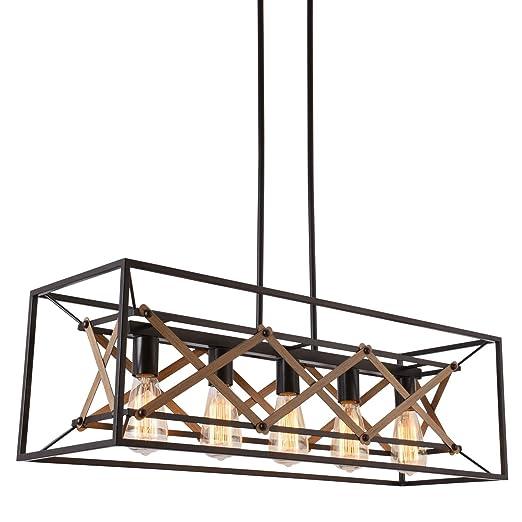 Amazon.com: Alice House - Lámpara de mesa de comedor, 12.4 ...