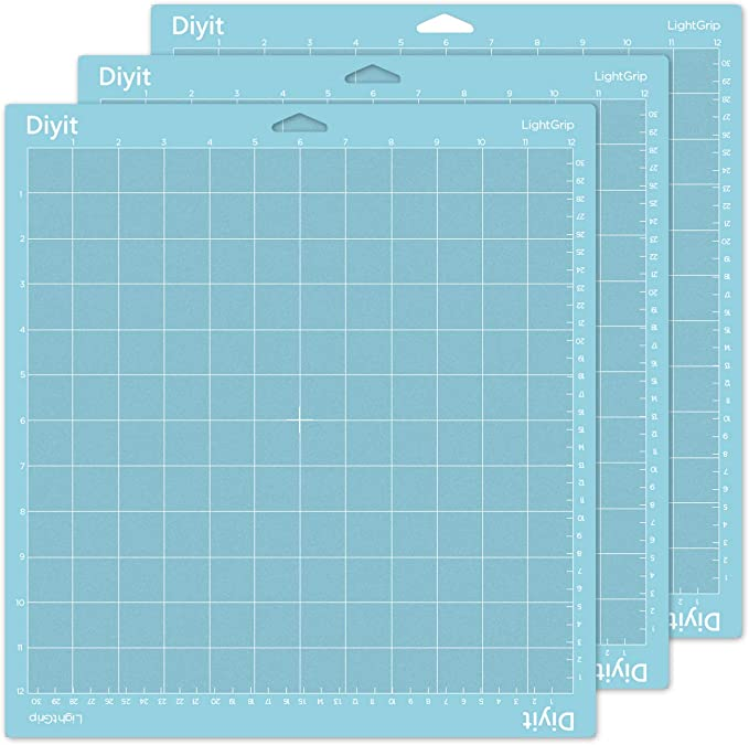 Standardgrip,12x12 inch,3pcs Xinart Cutting Mat for Cricut Maker Explore Air 2