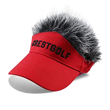 Kofull Gorra de Golf de Diseño de Moda con Pelo de Piel Sombreros ...