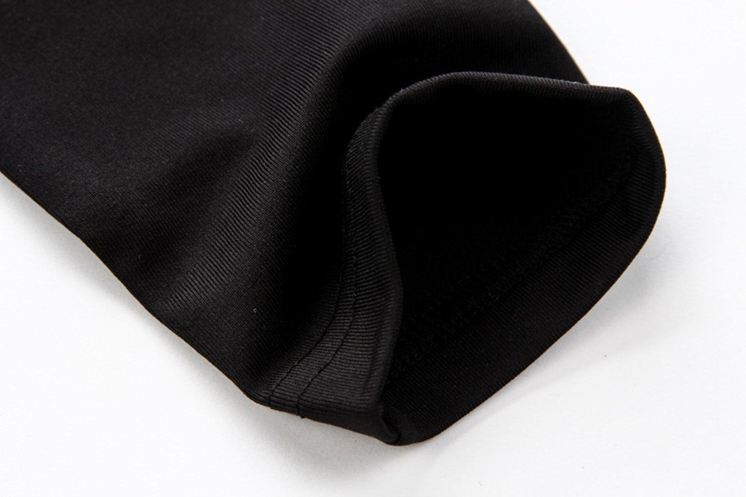 Hi-crazystore Men's Underwear Winter Ski Fleece Thermal Set Warm Top and Bottom (L)