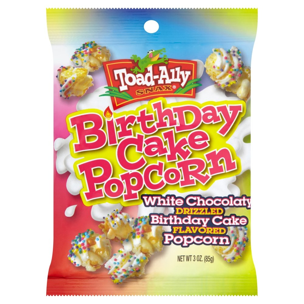 Fabulous Toad Ally Snax Birthday Cake Popcorn 85 G Amazon Co Uk Grocery Funny Birthday Cards Online Fluifree Goldxyz