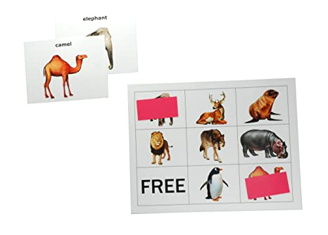 Amazon com: Keeping Busy Animal Picture Matching and Bingo Dementia