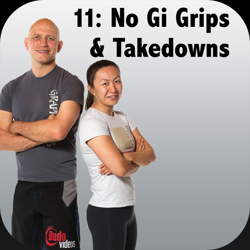 How to Defeat the Bigger, Stronger Opponent with BJJ, Vol 11 - No Gi Gripfighting and Takedowns by World Champion Emily Kwok and Stephan Kesting