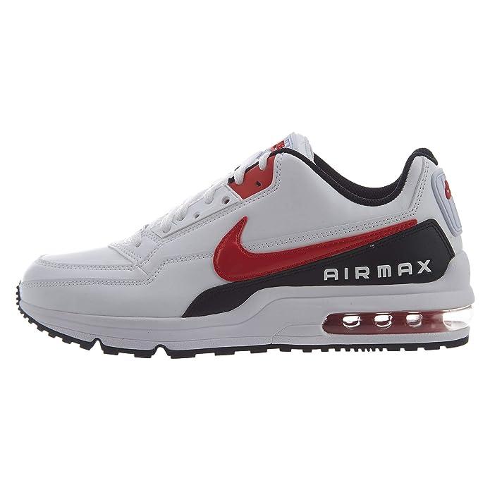 Nike Air Max Ltd 3 Sneaker Herren weiß mit rotem Streifen
