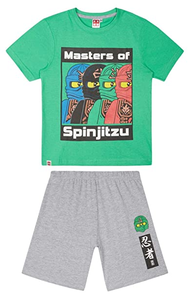 LEGO Ninjago Masters of Spinjitzu Pyjamas: Amazon.es: Ropa y ...