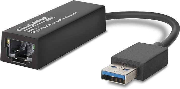 Adaptador de red LAN USB 3.0 a Ethernet Gigabit 10\100\1000 (chipset ASIX AX88179 compatible con Windows 10, 8.1, 8, 7, XP, Linux, OS X\macOS, Switch Game Console, Chrome OS) (renovado): Amazon.es: Electrónica