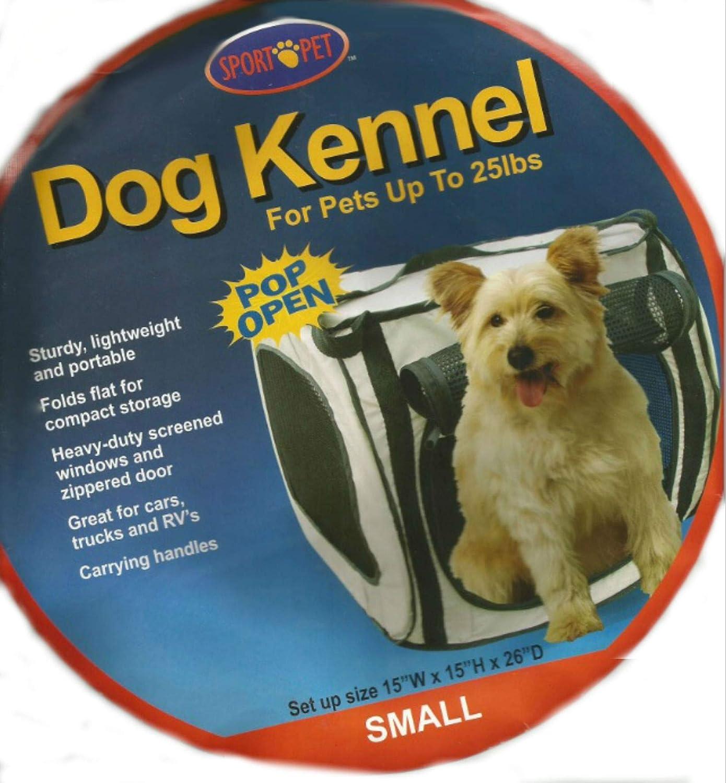 Deporte diseños de mascota de la perrera Pro Pop abierto, pequeño: Amazon.es: Productos para mascotas