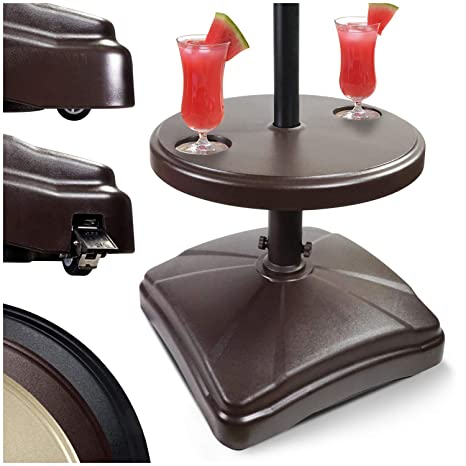 Amazon.com: Shademobile - Soporte para sombrilla y mesa de ...
